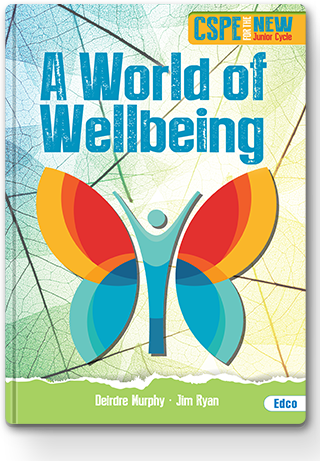 A World of Wellbeing Textbook Cover 320px